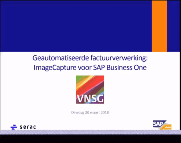 ImageCapture for SAP Business One